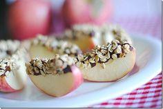 Apples, Nutella and Granola