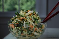 Coleslaw with miso dressing