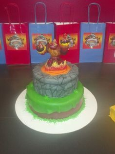 Cake Decoration At Coles : Skylanders Party Decoration Ideas on Pinterest ...