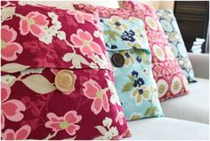 Easy Pillow Cover Tutorial.