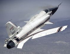 Grumman X-29 experimental aircraft built in 1984 by Grumman for NASA to test the concept of forward sweeping wings.