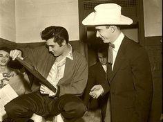 Elvis  Hank Williams