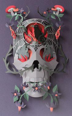 Paper cut work http://www.creativeboysclub.com/wall/creative