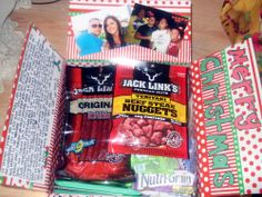 Great idea for making a Military care package for my brother in law