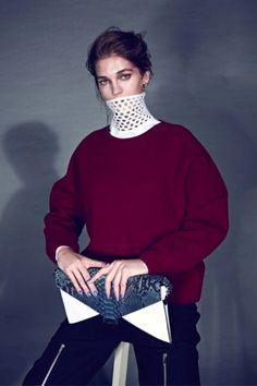 la modella mafia The New 2013 Minimalism - Samantha Gradoville x Harper's Bazaar Turkey January 2013 by Koray Birand 2