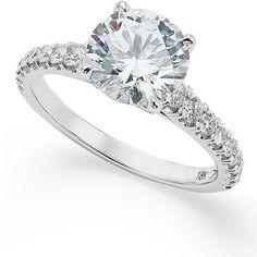 diamond rings, white gold, engagement rings