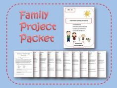 Family project packet