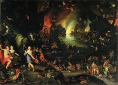 Orpheus Sings before Pluto and Proserpine in the Underworld - Jan Brueghel the Elder    Luis Fernando Serna Covarrubias