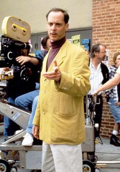 John Waters on the set ofSerial Mom(1994)