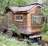Build a Gypsy Wagon in the Woods - All It Takes Is Ingenuity, Elbow Grease And (mostly) Recycled Components