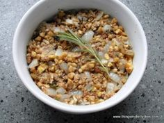 Chestnut and Rosemary Stuffing and more of the best paleo Thanksgiving recipes on MyNaturalFamily.com #paleo #thanksgiving