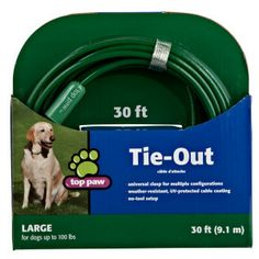 Top Paw® Containment Tie-Out for Dogs