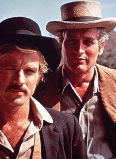 Paul Newman and Robert Redford.