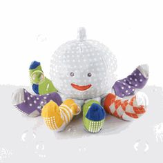 Sock Octopus Baby Gift Set - Boy