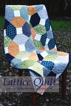 STITCHED by Crystal: Tutorial: Lattice Quilt