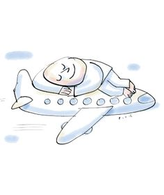 How to Sleep on a Plane | Real Simple
