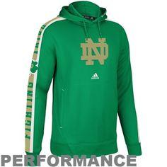 Notre Dame Fighting Irish Ladies Slouchy Pullover Sweatshirt - Kelly