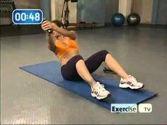 Jillian Michaels ab workout