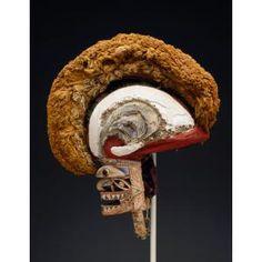 Tatanua mask, early 20th , Geographic location: northwestern region, New Ireland, Oceania, Dallas Museum of Art