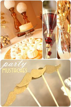 {Gold Glam} New Year�s Party