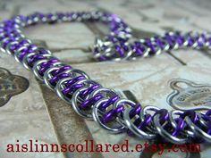 Shenanigans BDSM Gorean Slave Collar Choker by aislinnscollared, $40.00
