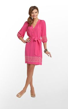 Perla Dress in Orchid Pink $278 (w/o 12/1/12) #lillypulitzer #fashion #style