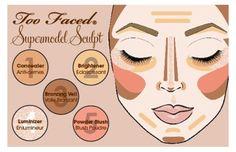 Countour & highlight face