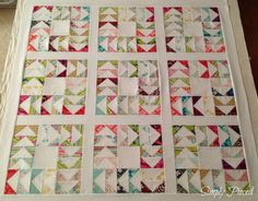 flying geese quilt by simply pieced | my quilt infatuation