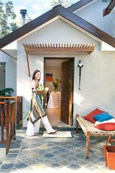 Pergola-back door
