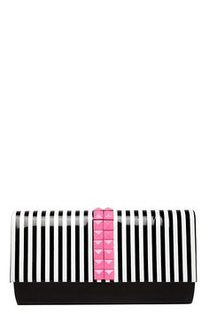 Folter - Striped Studded Clutch #MyTorridSummer