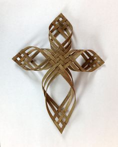 Large Twill Woven Cross FREE SHIPPING