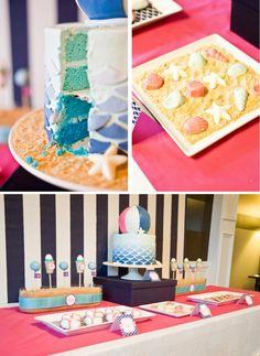 food-beach themed party