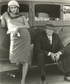 Bonnie and Clyde (Faye Dunaway & Warren Beatty)