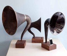 Gramophone Iphone Station