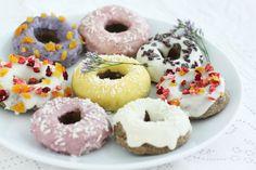 raw doughnuts