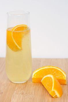 Honey Badger - honey, elderflower liqueur, orange, prosecco
