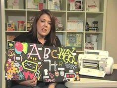 Scrapbook.TV - Cricut: How to Use the Feature Keys..