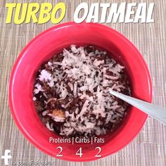 Turbo Oatmeal, A P90X3 Meal Plan Recipe
