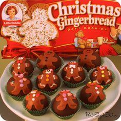 Little Debbie Gingerbread Truffles!