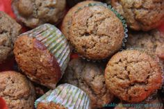 Back to school apple muffins! #SundaySupper