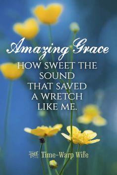 ❥ Amazing grace