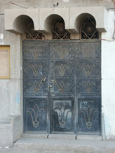 Egyptian Door