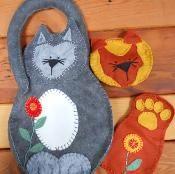 Cat Bag - via @Craftsy