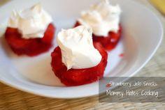 Strawberry Jello Snack
