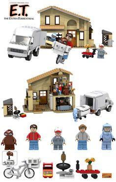 LEGO - E.T.  Playset