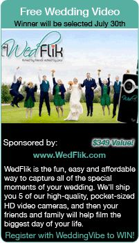 Wedding Giveaways - Win your wedding video in this wedding contest.