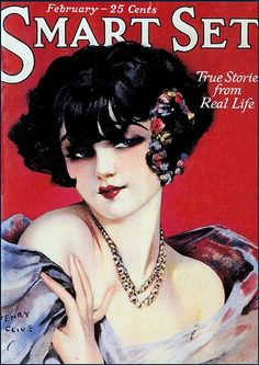 So alluringly lovely #vintage #1920s #magazine #cover #fashion #flapper #hair
