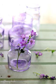Craftberry Bush: purple glass DIY