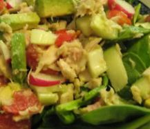 Tuna Veggie Salad