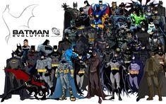 Awesome Batman Evolution